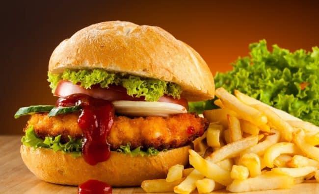 Burger in Dubai