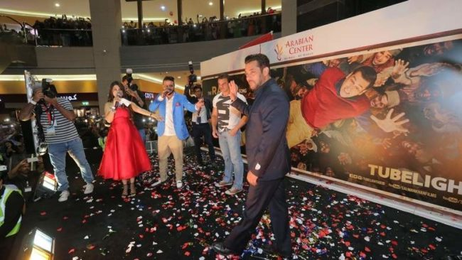 Salman Khan at Tubelight Promotion Dubai
