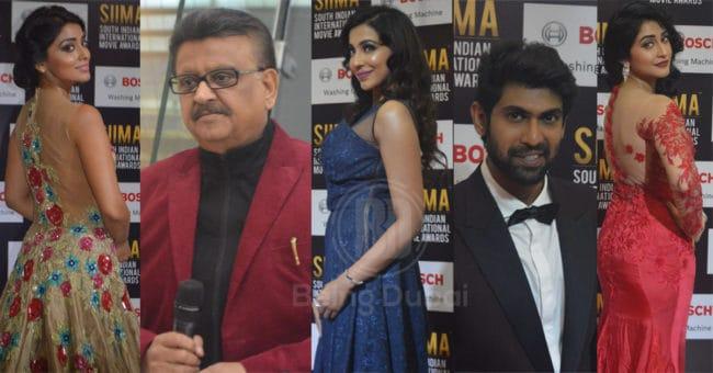 Celebrities at SIIMA 2017
