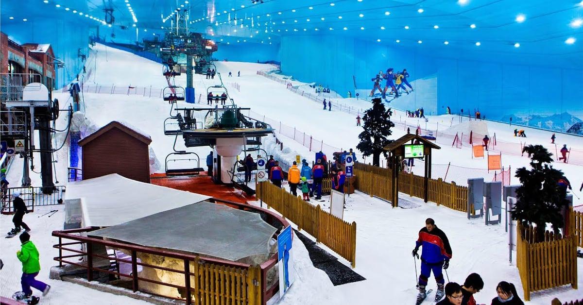 Indoor Ski Resort Dubai