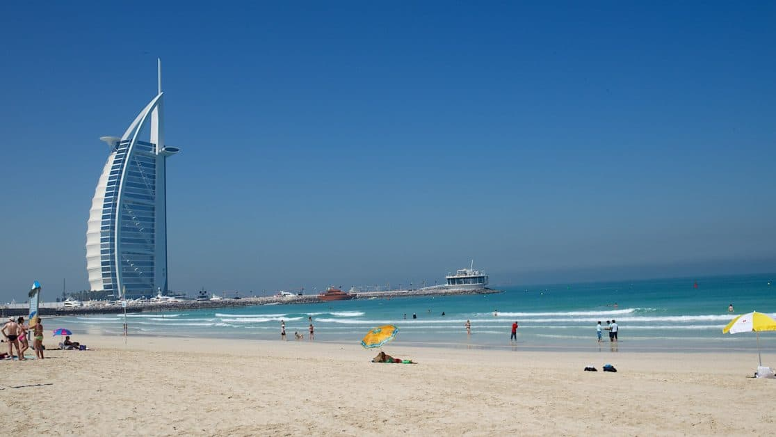 Top 10 Beaches in Dubai