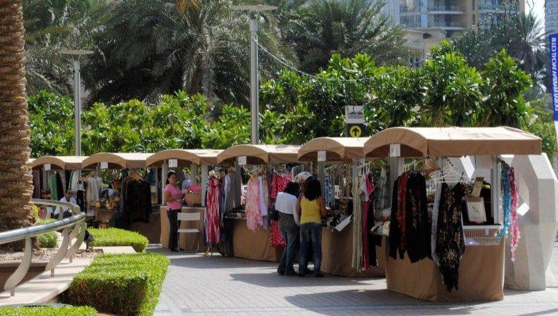 Outdoor Markets In Dubai