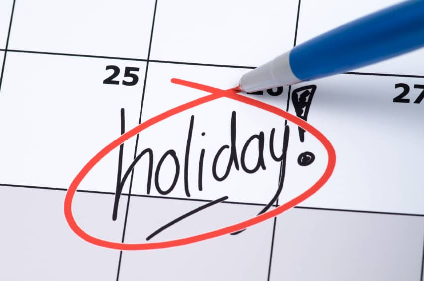 Dubai Public Holidays 2016