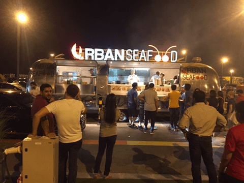 Last Exit – Food Truck Park in Dubai