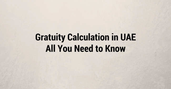 gratuity-calculation-uae