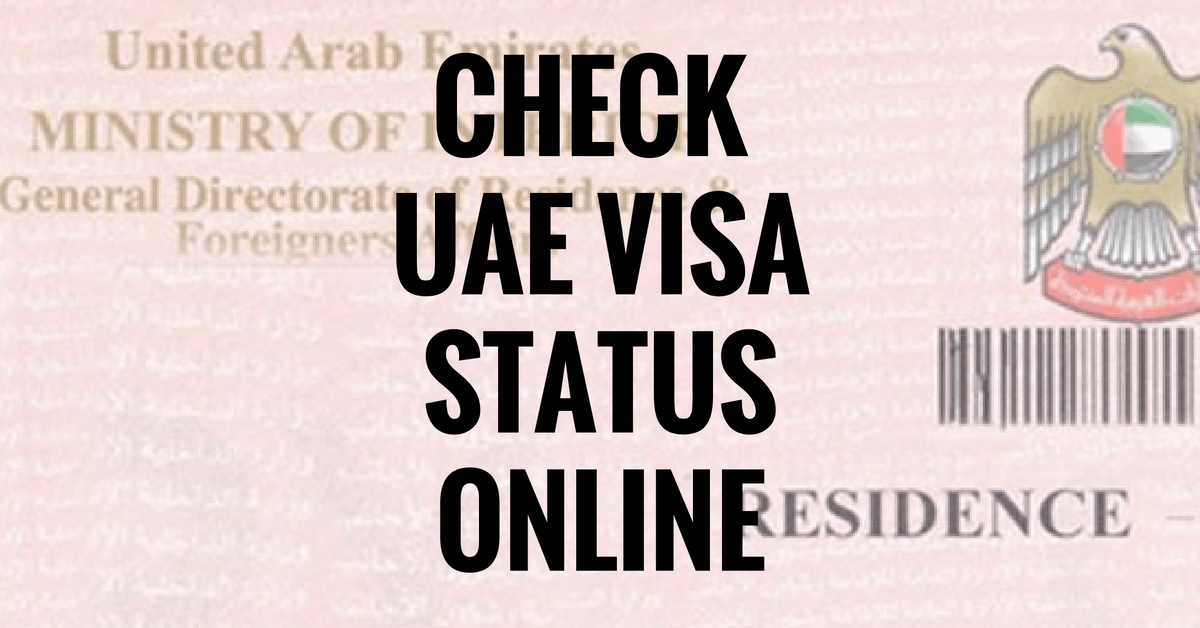 Checking Your Visa Application Status Online in Dubai