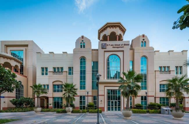 SP Jain School of Global Management Dubai