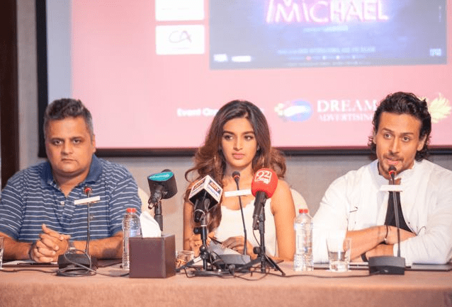 Tiger Shroff and Nidhi Agerwal in Dubai to Promote Munna Michael