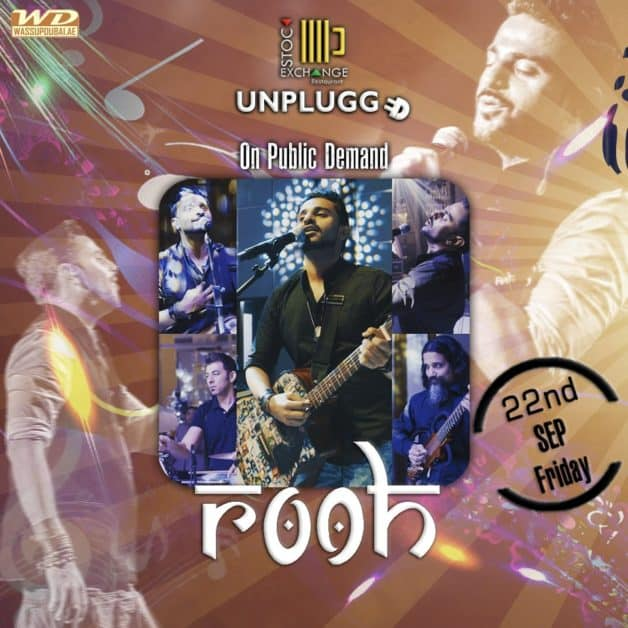 Rooh is performing live at Stock Exchange on 22nd September