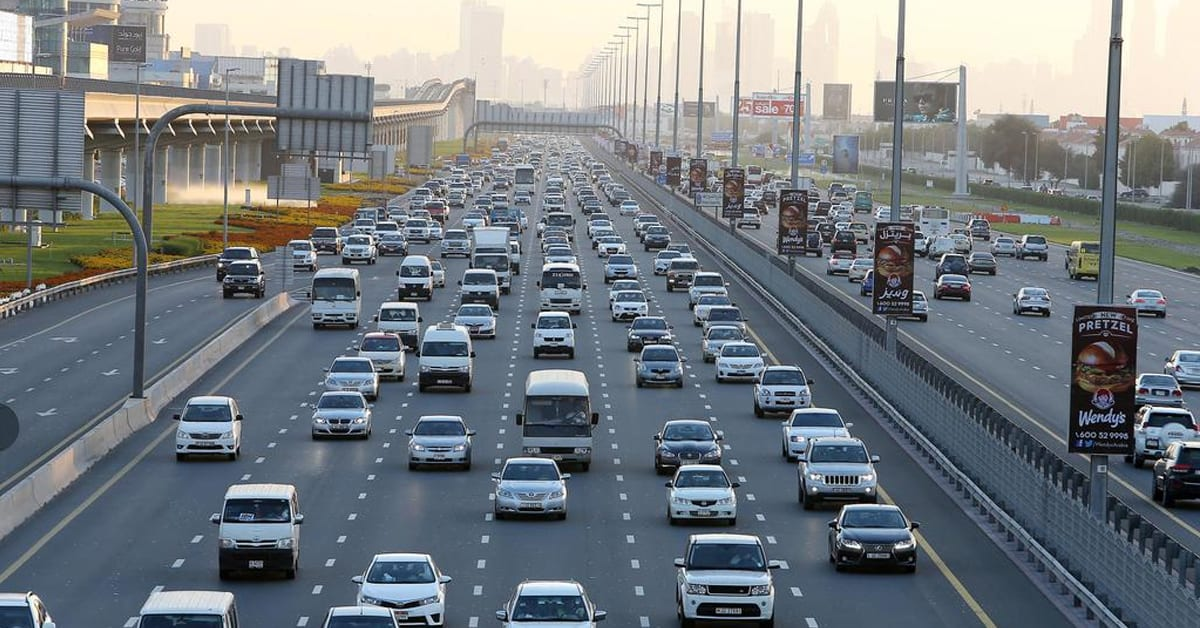 Here is Dubai's New Year Traffic Plan