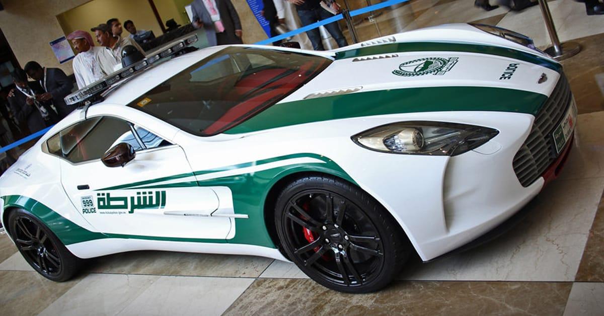 Dubai Police Aston Martins