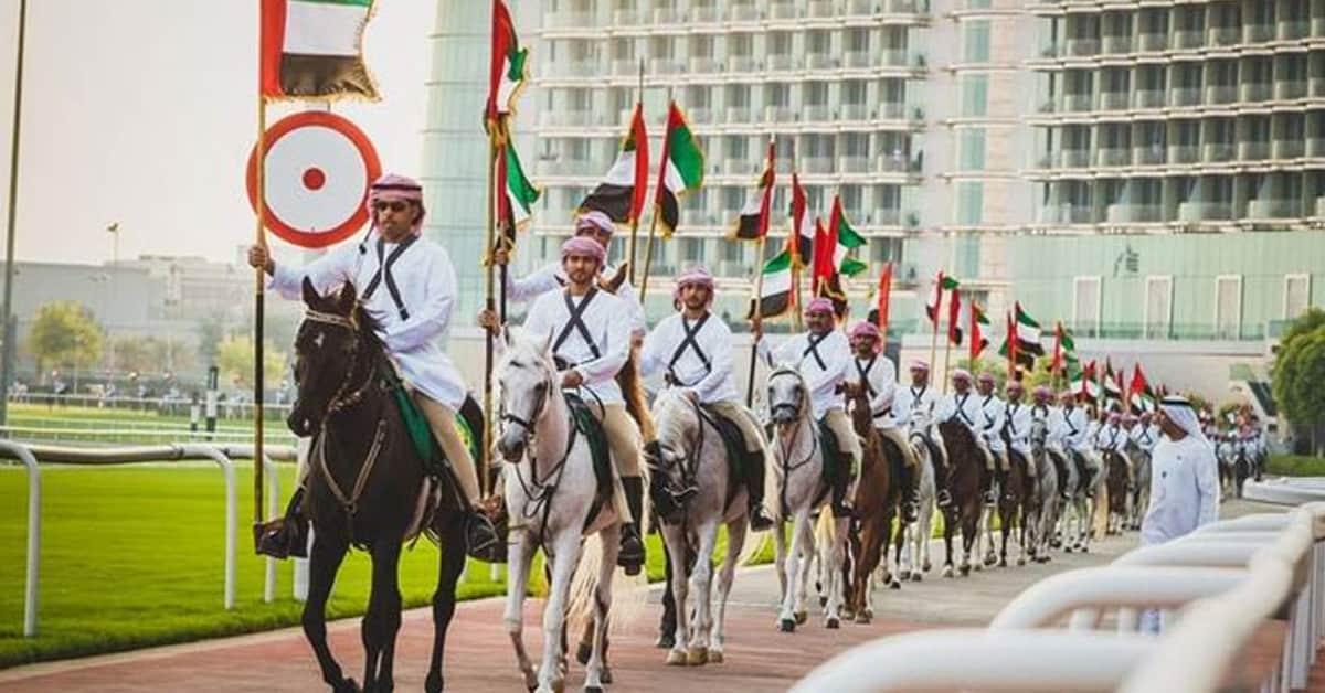 Dubai Police Horse Parade