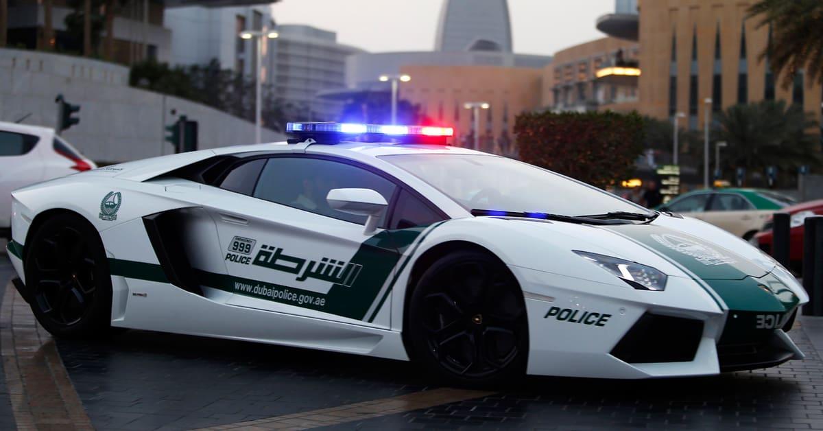 Dubai Police Lamborghinis