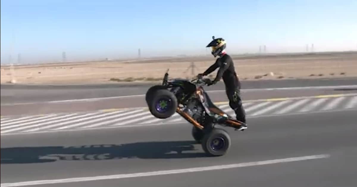 Dubai Police Captain Abdullah makes an entry in the Guinness book of world records!