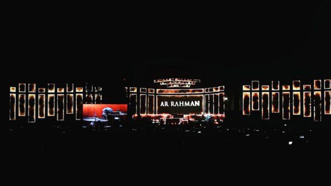 AR Rahman Bollywood Parks Dubai