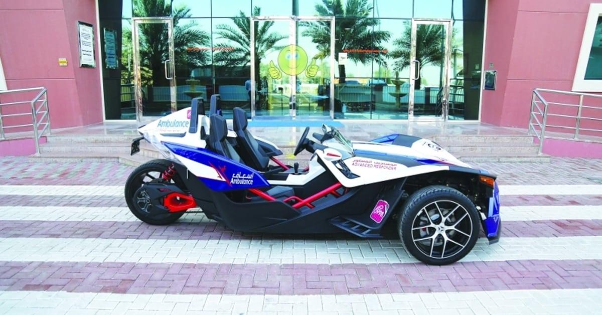 A Fast Bike Becomes Dubai's New Ambulance - Being Dubai